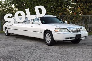 2006 Lincoln Town Car Executive w/Limousine Pkg Hollywood, Florida