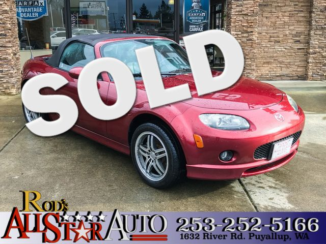 2006 Mazda MX-5 Miata Touring This vehicle is a CarFax certified one-owner used car Pre-owned veh