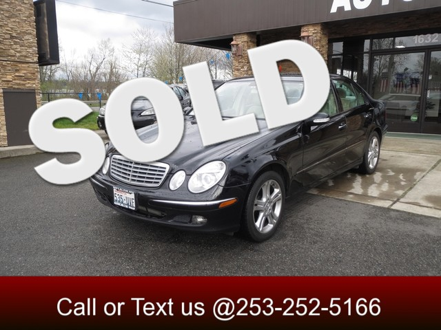 2006 Mercedes E350 35L Are you looking for a proper luxury car Something smooth powerful quite