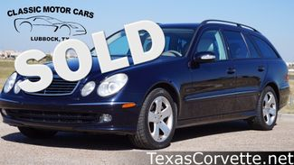 2006 Mercedes-Benz E500 in Lubbock Texas