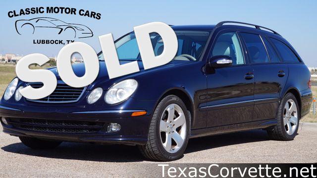2006 Mercedes-Benz E500 5.0L | Lubbock, Texas | Classic Motor Cars