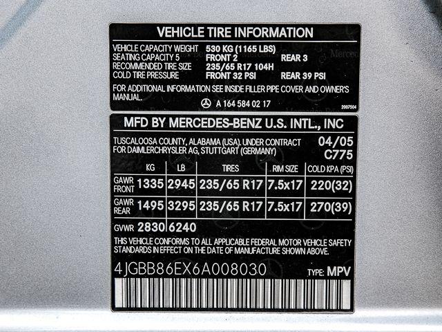 2006 Mercedes-Benz ML350 3.5L Burbank, CA 19