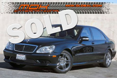 2006 Mercedes-Benz S500 - Sport AMG pkg - Service records in Los Angeles