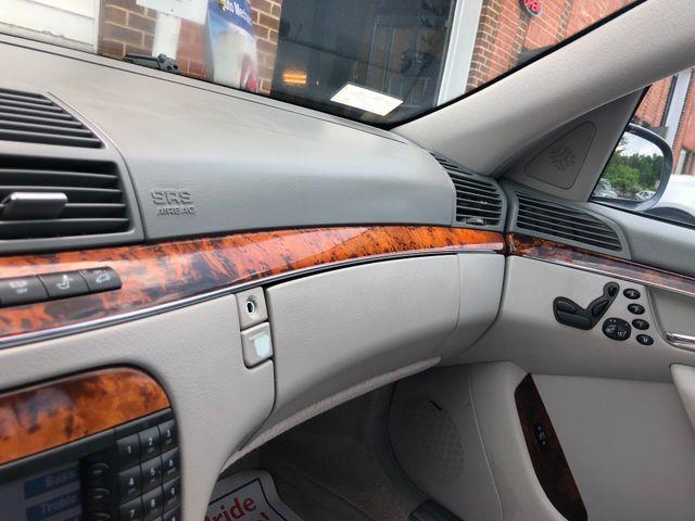 2006 Mercedes-Benz S500 5.0L Sterling, Virginia 32