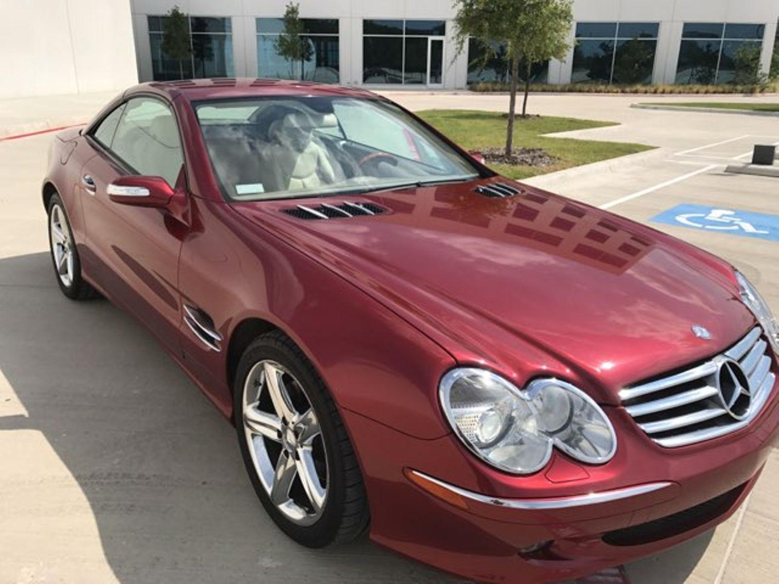 2006 mercedes-benz sl class sl500