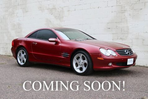 2006 Mercedes-Benz SL500 V8 Hardtop Convertible Roadster with Heated/Cooled Seats & 18