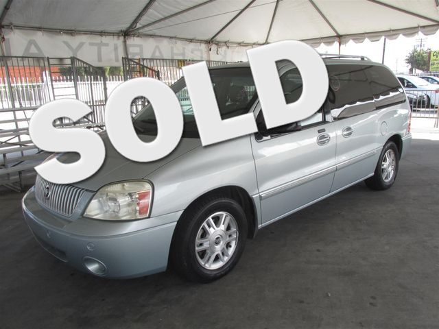 2006 Mercury Monterey Luxury This particular Vehicle comes with 3rd Row Seat Please call or e-mai