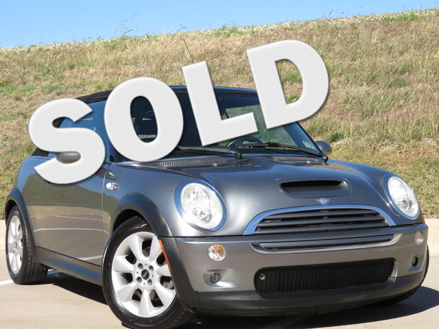 2006 MINI Convertible S  VIN WMWRH33546TK58051 95k miles  AMFM Anti-Theft AC Cruise Power
