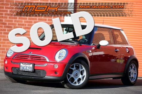 2006 Mini Hardtop S - Manual - Leather seats in Los Angeles