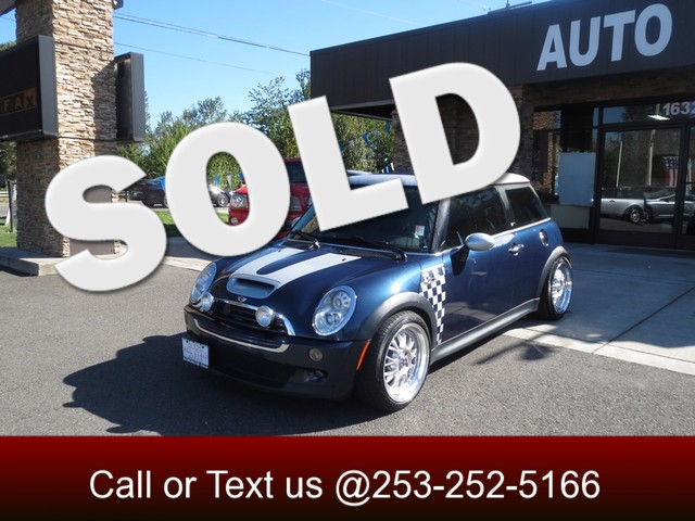 2006 MINI Hardtop S The CARFAX Buy Back Guarantee that comes with this vehicle means that you can