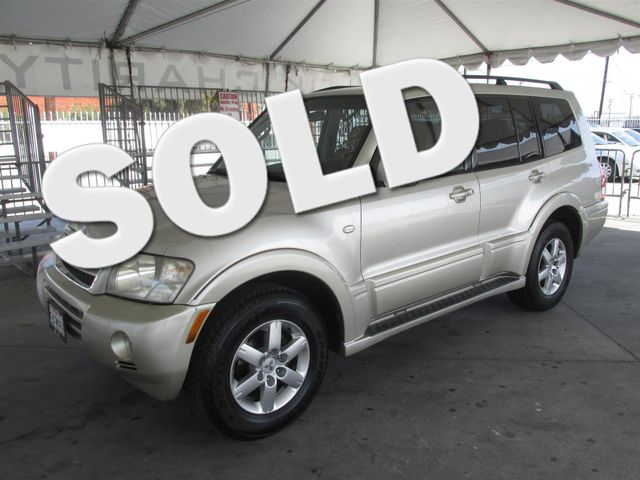 2006 Mitsubishi Montero LTD This particular Vehicle comes with 3rd Row Seat Please call or e-mail