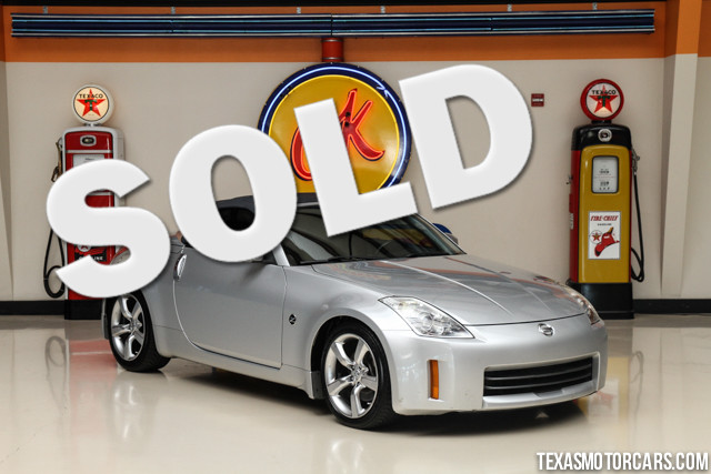 2006 Nissan 350Z Touring This 2006 Nissan 350Z Touring is in great condition with only 66 166 mile