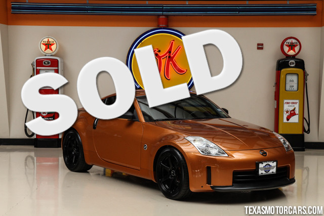 2006 Nissan 350Z This low-mileage 2006 Nissan 350Z is in great shape with only 82 436 miles The 3