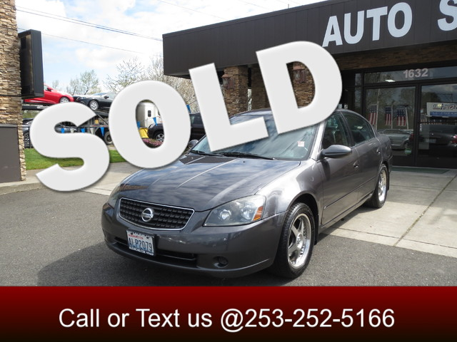 2006 Nissan Altima 25 S The CARFAX Buy Back Guarantee that comes with this vehicle means that you