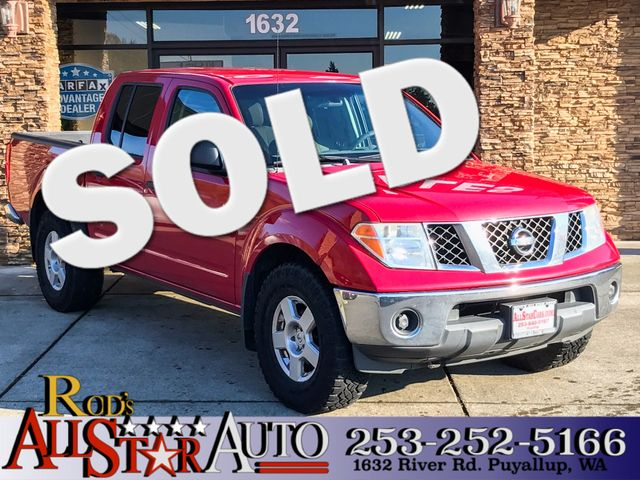 2006 Nissan Frontier SE AWD The CARFAX Buy Back Guarantee that comes with this vehicle means that