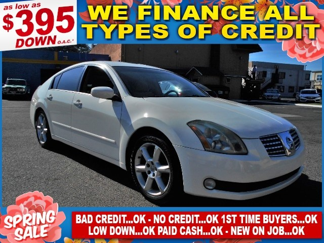 2006 Nissan Maxima 35 SE Limited warranty included to assure your worry-free purchase AutoCheck