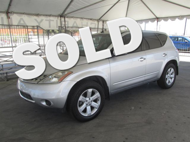 2006 Nissan Murano S Please call or e-mail to check availability All of our vehicles are availa