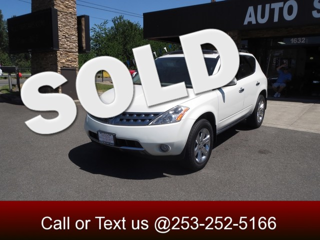 2006 Nissan Murano SL AWD The CARFAX Buy Back Guarantee that comes with this vehicle means that yo