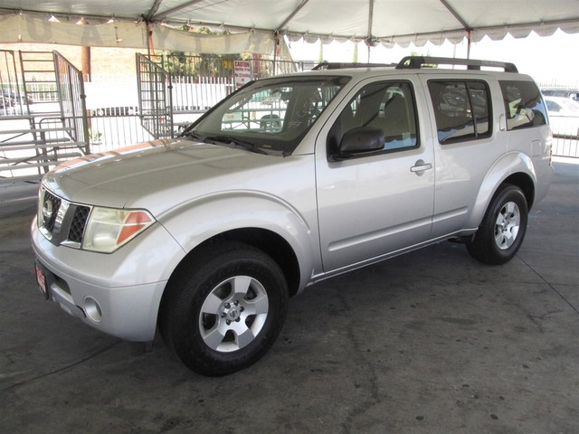 2006 Nissan Pathfinder S This particular Vehicle comes with 3rd Row Seat Please call or e-mail to