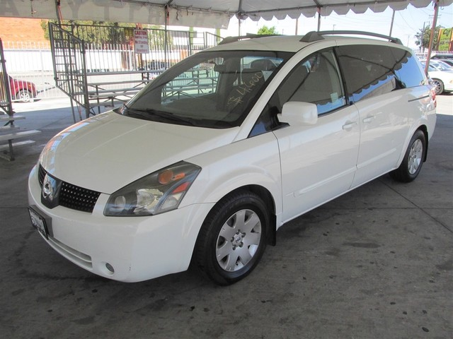 2006 Nissan Quest Base This particular Vehicles true mileage is unknown TMU Please call or e-m
