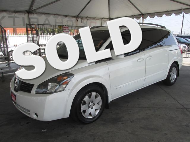2006 Nissan Quest Base This particular Vehicle comes with 3rd Row Seat Please call or e-mail to c