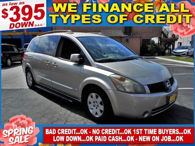 2006 Nissan Quest S Special Edition Limited warranty included to assure your worry-free purchase