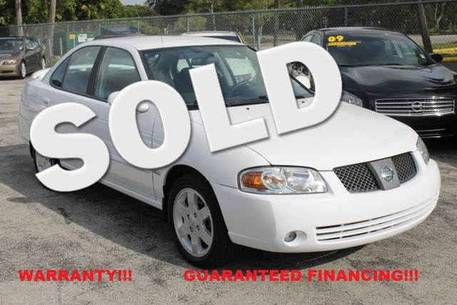 2006 Nissan Sentra 18 S  13K ORIGINAL MILES WARRANTY CARFAX CERTIFIED AUTOCHECK CERTIFIED