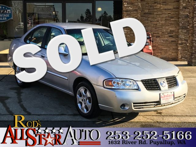 2006 Nissan Sentra 18 S The CARFAX Buy Back Guarantee that comes with this vehicle means that you