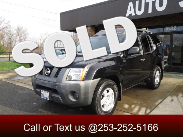 2006 Nissan Xterra X Our sporty 2006 Nissan Xterra X comes with a 40-liter 265-hp V6 and 4-speed