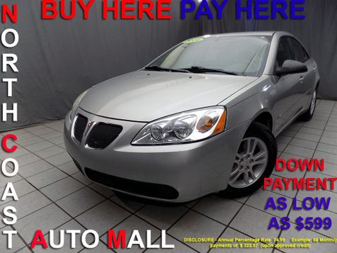 2006 Pontiac G6 6-Cyl  As low as $599 DOWN in Cleveland, Ohio