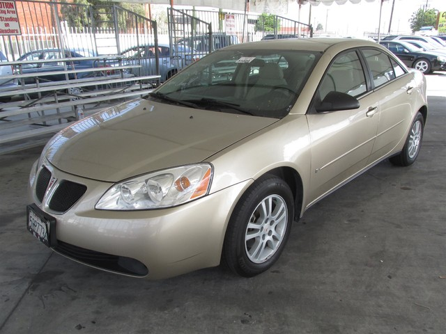 2006 Pontiac G6 6-Cyl Please call or e-mail to check availability All of our vehicles are avail