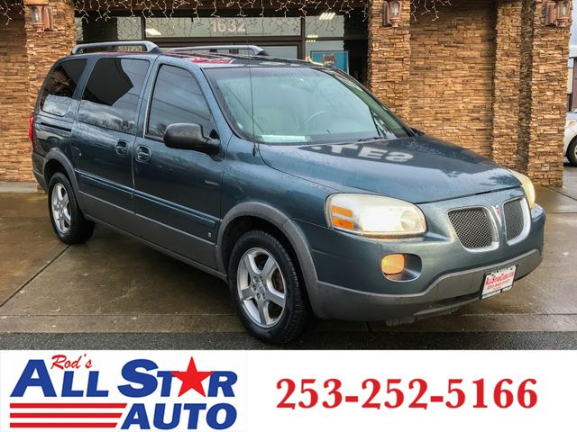 2006 Pontiac Montana SV6 AWD The CARFAX Buy Back Guarantee that comes with this vehicle means that