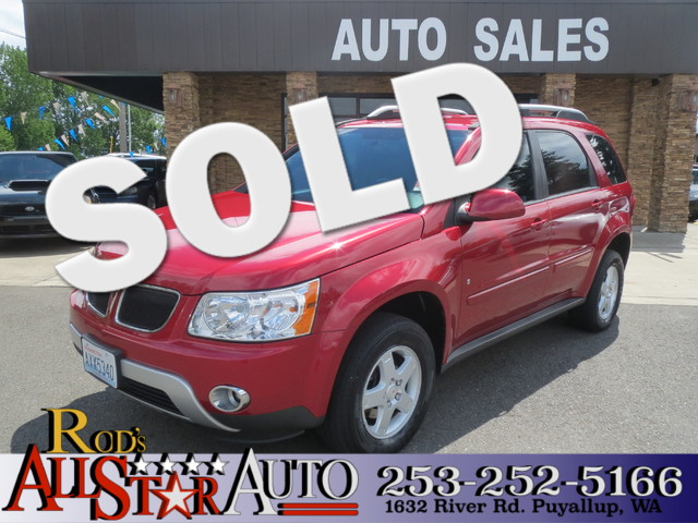 2006 Pontiac Torrent The CARFAX Buy Back Guarantee that comes with this vehicle means that you can
