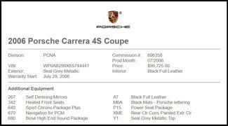 2006 Porsche 911 Carrera 4S