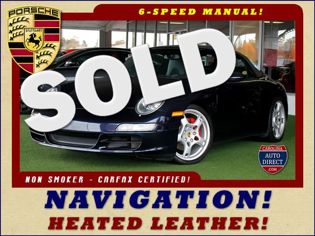2006 Porsche 911 Carrera S Cabriolet - NAVIGATION - HEATED LEATHER! Mooresville , NC 0