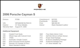 2006 Porsche Cayman in Carrollton TX