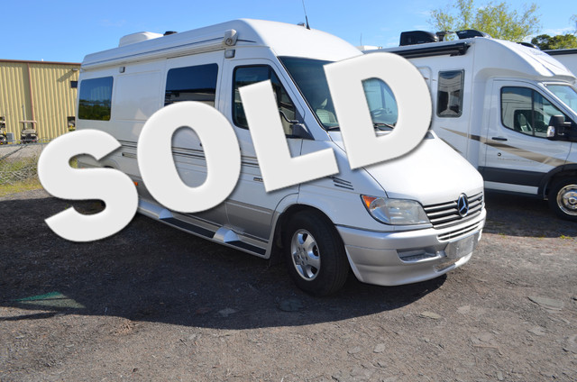 2006 roadtrek adventurous for Mercedes benz camper vans for sale
