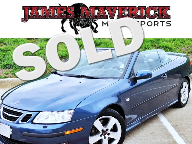 2006 Saab 9-3 Aero CLEAN CARFAX TOURING PKG POWER TOP HEATED LEATHER EXCELLENT CONDITION 44K