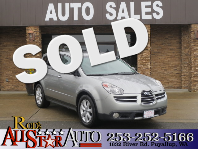 2006 Subaru B9 Tribeca AWD The CARFAX Buy Back Guarantee that comes with this vehicle means that y