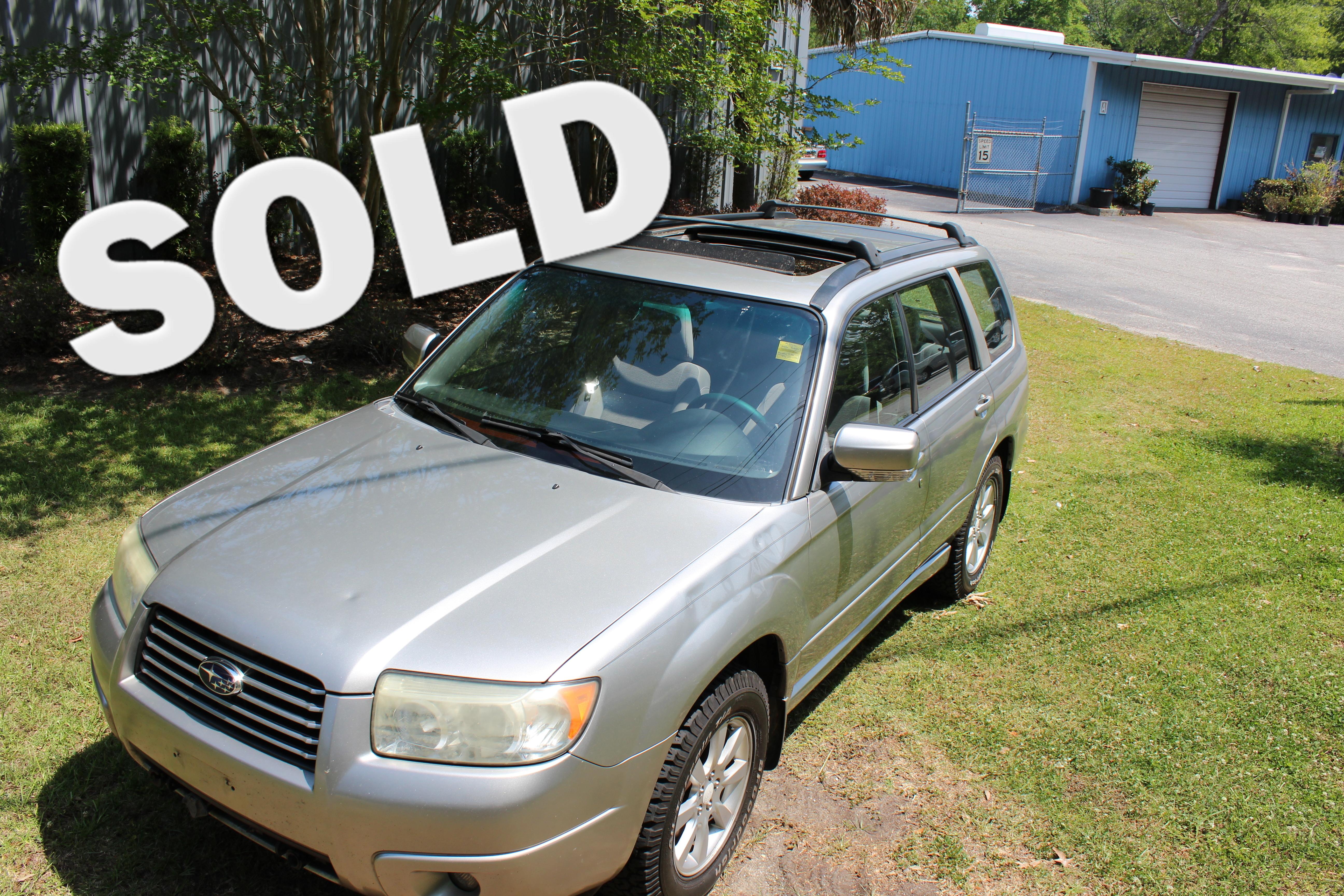 2006 Subaru Forester 2.5 X w/Premium Pkg in Charleston SC