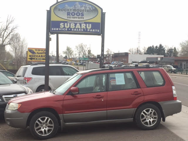2006 Subaru Forester 2.5 X L.L. Bean = New HdGasket; TBelt WPump Golden, Colorado 2