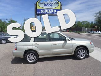 2006 Subaru Forester 2.5 X w/Premium Pkg Golden, Colorado