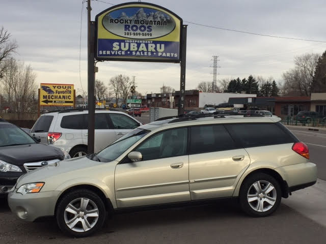 2006 Subaru Outback 2.5 XT Limited = Leather Loaded Turbo Golden, Colorado 2