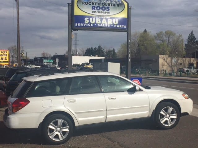 2006 Subaru Outback 2.5 XT Limited = Leather-Loaded Turbo Golden, Colorado 0