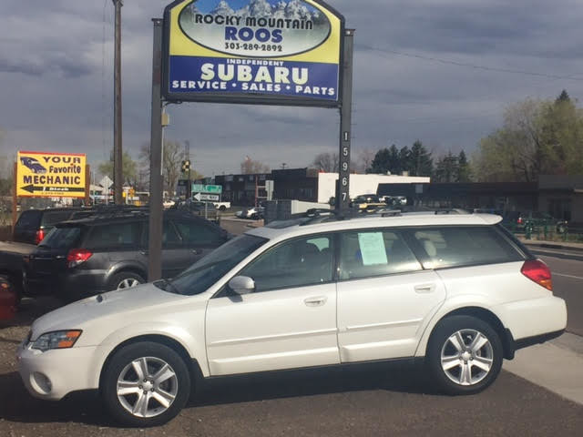 2006 Subaru Outback 2.5 XT Limited = Leather-Loaded Turbo Golden, Colorado 2