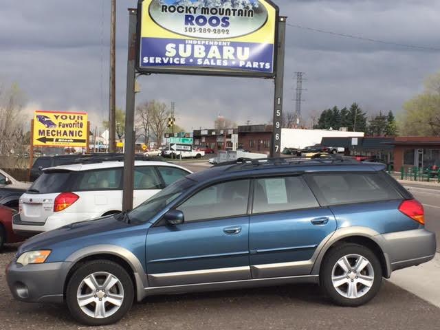 2006 Subaru Outback 2.5 XT Turbo = New Timing Belt & Water Pump Golden, Colorado 2