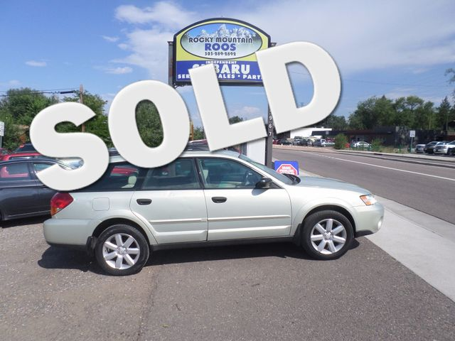 2006 Subaru Outback  2.5i. New H/G , T/B  and Water Pump Golden, Colorado 0