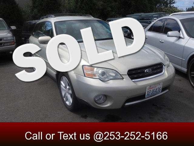 2006 Subaru Outback 30 R AWD The CARFAX Buy Back Guarantee that comes with this vehicle means tha