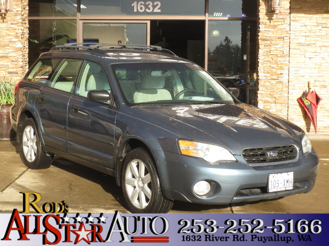 2006 Subaru Outback 25i AWD This vehicle is a CarFax certified one-owner used car Pre-owned vehi