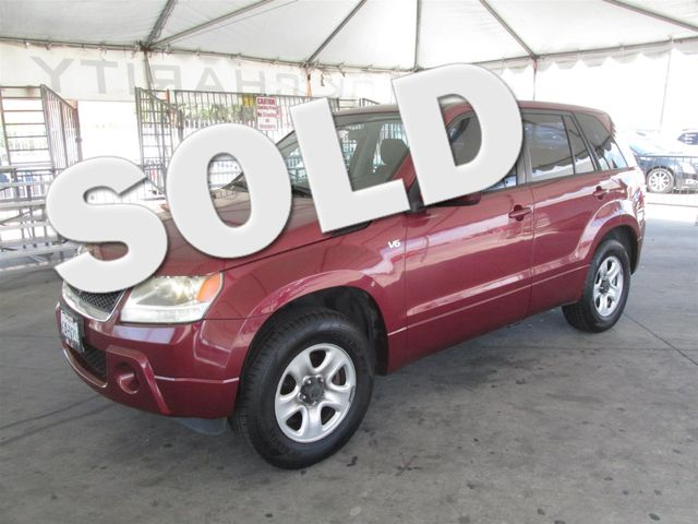 2006 Suzuki Grand Vitara Please call or e-mail to check availability All of our vehicles are av